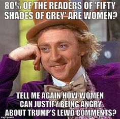 Donald Trump women and Fifty Shades of Grey