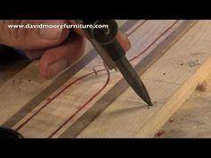 Wood Inlay - How to Make Custom Wood Inlay Banding - Skills & Techniques Tutorial - YouTube