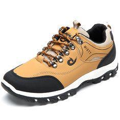 9525cfbdece8 Fashion Men Mesh Hiking Slip Resistant Metal Buckle Outdoor Sport Sneakers  - NewChic Mobile Men Sneakers