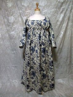 Mistress of Disguise - Indigo Indienne Regency Dress