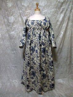 Mistress of Disguise - Indigo Indienne Regency Dress