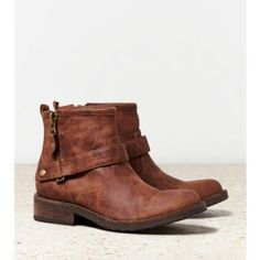 Buckled Ankle Boot