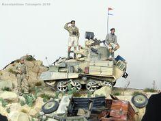 ''Desert patrol'' vignette by Konstantinos Tsiompris
