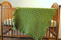Ruffles & Dots Baby Blanket