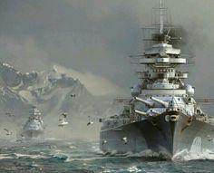Bismarck & Prinz Eugen 1941