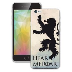 Hear Me Roar House Lannister Game of Thrones Il Trono di Spade iPhone sticker Vinyl Decal