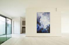 Öl Gemälde 'Galaxis' 100x160cm