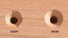 Countersink first, drill the pilot hole second. That may sound backward, but it's the easiest way to ensure a perfect countersink. Learn more now.  #WoodworkTechniques