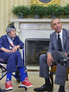 Emma Didlake, a longtime Detroiter and America's oldest living veteran, passed away on August 17, 2015 at age 110, just weeks after meeting President Barack Obama in Washington. Born in Boligee, Alabama on March 13, 1905 she served in the WACS during World War II as a driver,