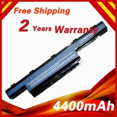 4400mAh laptop battery  for Acer  AS10D31 AS10D41 AS10D51 AS10D61 AS10D71 AS10D75 #CLICK! #clothing, #shoes, #jewelry, #women, #men