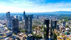 Frankfurt am Main, Germany. Panorama of Frankfurt am Main, Germany , Frankfurt Skyline, Wonderful Places, Beautiful Places, Paris Skyline, New York Skyline, Mercure Hotel, City Wallpaper, Wallpaper Desktop, Hd Desktop