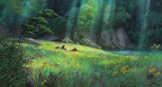 Arrietty by Studio Ghibli