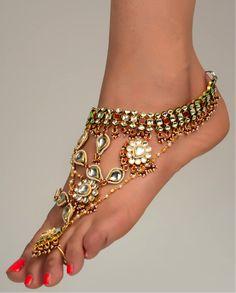 Jodha Akbar inspired anklet
