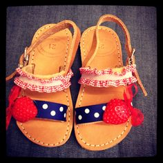 Greek sandals for girls