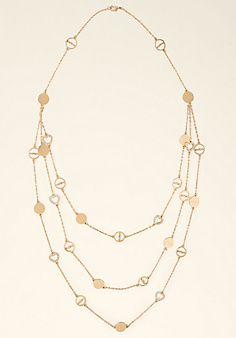 Gold Multi-Chain Necklace