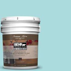 BEHR Premium Plus Ultra, 5-gal. #M460-2 Beachside Drive Matte Interior Paint, 175005 at The Home Depot - Mobile