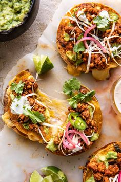 Cool Ranch Chicken Tostadadillas with Honey Lime Crema | halfbakedharvest.com Mexican Food Recipes, Dinner Recipes, Healthy Recipes, Ethnic Recipes, Dinner Ideas, Mexican Dishes, Lunch Recipes, Healthy Foods, Pasta