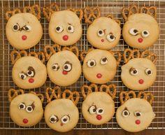 reindeer cookies toddler craft