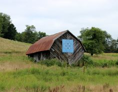 Barn quilt in Linville Falls, N.C.
