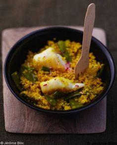 Couscous de quinoa poisson pour 6 personnes - Recettes Elle à Table