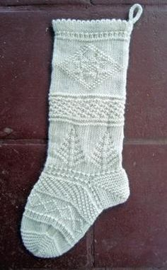 Looking for your next project? You're going to love Mix-It-Up Christmas Stocking Textured by designer SailingKnitter.