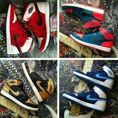 Air Jordan 1 Retro PE Collection Melo Westbrook Blake Griffin Chris Paul Size 15 #jordan #BasketballShoes