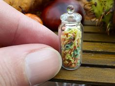The Mini Food Blog: Tricolor Pasta in Autumn Colors with Pumpkin ...