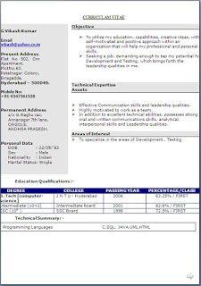 10 Best Cv Images Cv Format Curriculum Vitae Resume Job Resume