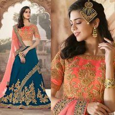 Buy Best Seller Latest Designer Blue Bhagalpuri Lehenga With Bhagalpuri Silk choli For Women Online @AndaazFashionUS  #Designerlehenga #Bhagalpurilehenga #silkcholi #partywear #bestseller #designs #womensstyle #fashion #shopping #online  Book Now :  https://www.andaazfashion.com/womens/lehenga-choli/blue-bhagalpuri-lehenga-with-bhagalpuri-silk-choli-dmv15367.html