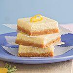 Healthy Desserts: Lemon-Cheesecake Bars