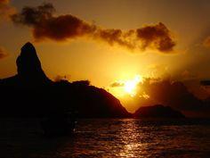 Por do sol...Fernando de Noronha
