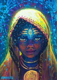 The mystical, fantastical, spiritual art of Annelie Solis. Paintings & other creations. About the artist. Painting Inspiration, Art Inspo, Art Afro, Inspiration Artistique, Visionary Art, Psychedelic Art, Indian Art, African Art, Black Art