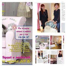 Lifestyle & Bon Ton sulla rivista Casa da Sogno di novembre ♥