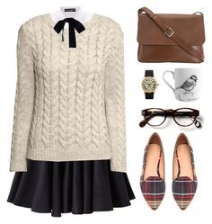 Classic Specs by jocelynj17 on Polyvore featuring polyvore, мода, style, H&M, Dolce&Gabbana, Monki, Surface To Air, Joie and Valextra