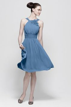 My bridesmaid dresses by Watters and Wtoo but in Roseglow, not this blue