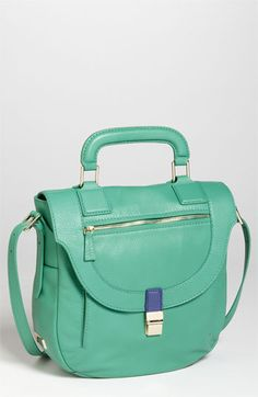 Great use of color blocking on this Botkier Satchel.