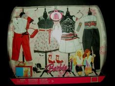 New-Barbie-Clothing-BIG-LOT-Fashion-Fever-Fashionista-Glam-Dress-Set-Party-STORE