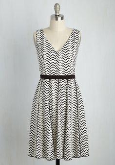 Set the Record Date A-Line Dress, #ModCloth