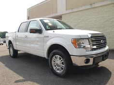 At Paramount Ford Valdese, New 2013 Ford SuperCrew Cab F150 4X4 LARIAT CREWCAB, Oxford White, As much as it alters the road, this tough Vehicle transforms its driver* 4 Wheel Drive, never get stuck again...Sold!