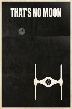 Posters com os veículos de Star Wars