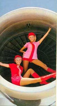 Braniff Stewardess Picture - Website credit here http://www.aviationexplorer.com/Vintage_Stewardess_Pictures.html