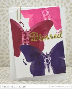 Blessed Butterfly Card