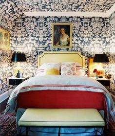 Chinoiserie Chic: The Question of Wallpapered Ceilings in Chinoiserie Rooms