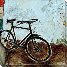 Joel Ganucheau 'Bicycle I' Canvas Art