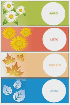 Pro Štípu: Období PODZIM Month Weather, Weather For Kids, Weather Seasons, Teaching English, Mosaic Art, Four Seasons, Avon, Projects To Try, Clip Art