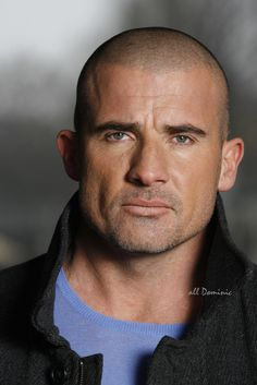 Character look - Deneb Gratu from The Atlantis Grail series by Vera Nazarian - Dominic Purcell