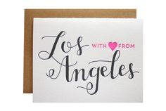 Letterpress note cards by Parrott Design Studio sold at paperandpearl.com