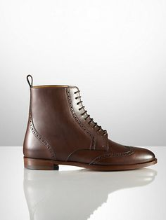 Brenly Oxford Calf Boot - Collection Shoes   Shoes - RalphLauren.com