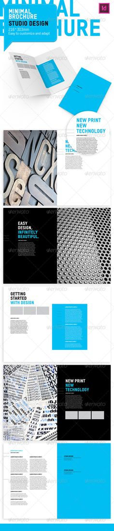 30 Free Brochure Templates for Download Free brochure, Brochure - technology brochure template