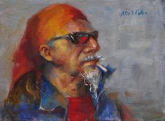 Ran Wu - Chris- Oil - Painting entry - April 2016 | BoldBrush Painting Competition
